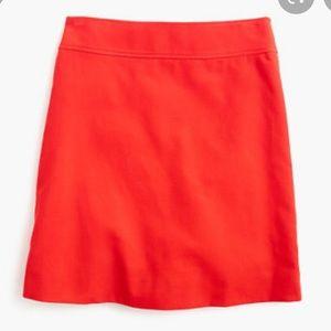 J.Crew corduroy mini skirt